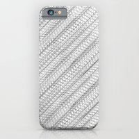 Overlapping Circles Pattern iPhone 6 Slim Case