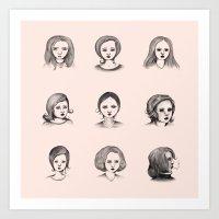 Sketches I Art Print