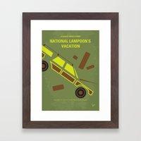 No412 My National Lampoo… Framed Art Print