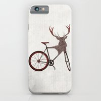 iPhone & iPod Case featuring Stag Bike by Wyatt Design