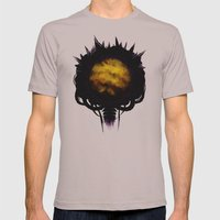 Zebes Mens Fitted Tee Cinder SMALL