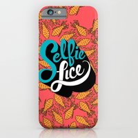 iPhone Cases featuring Selfie Lice by Chris Piascik