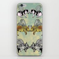 Pigs on the wing iPhone & iPod Skin