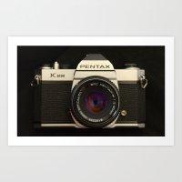 Pentax K-1000 Art Print