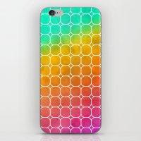 Rainbow Pattern #1 iPhone & iPod Skin