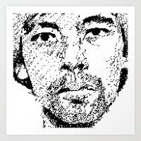 Pixel Portrait : Onra Art Print