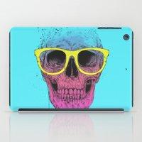 Pop Art Skull With Glass… iPad Case