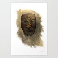 Primal Art Print