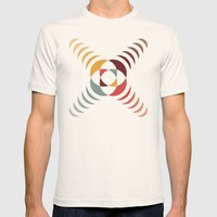 Good Vibratons [Crosses] Mens Fitted Tee Natural SMALL