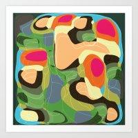 Topic Tropic Art Print