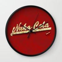 Nuka-Cola Wall Clock