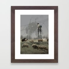 1920 - shepherd Framed Art Print