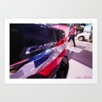 Toyota Camry Brand Logo Art Print