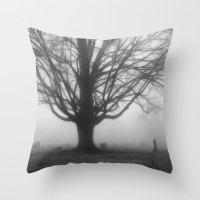 Foggy Morning 2 Throw Pillow