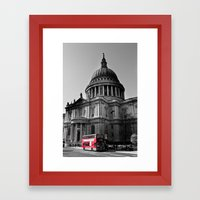 St Paul's Cathedral London Framed Art Print
