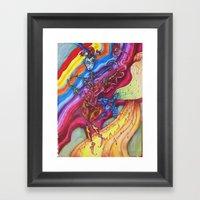 The Music Makers Framed Art Print