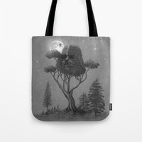 Dark Side of The Forest  Tote Bag