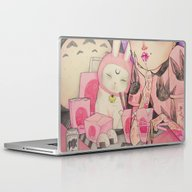Laptop & iPad Skin featuring Noodle Eater by LOll3