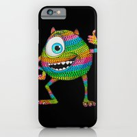 iPhone & iPod Case featuring Mike Wazowski fan art by Luna Portnoi by Luna Portnoi