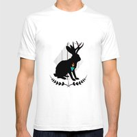 Aztec King Of The Jackal… Mens Fitted Tee White SMALL