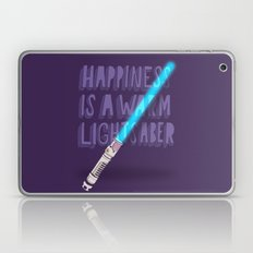 Happiness is a warm Lightsaber Laptop & iPad Skin