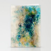Watercolor Abstract 1 Stationery Cards