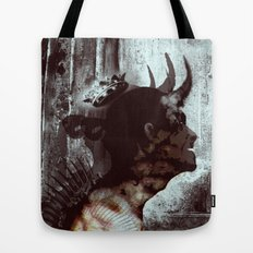 Darkness and light Tote Bag