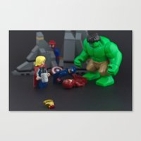 Ironman Falls Canvas Print