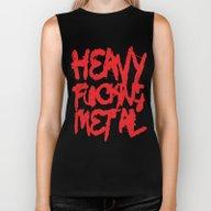 Heavy Fucking Metal Biker Tank