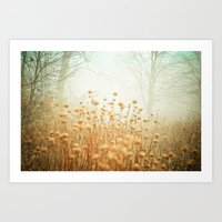 The Magic Of Fog Art Print