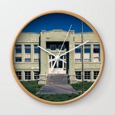 Antelope School Wall Clock
