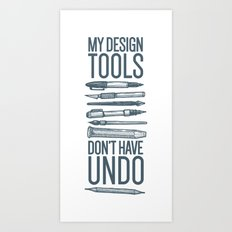 Cocky Designer Art Print