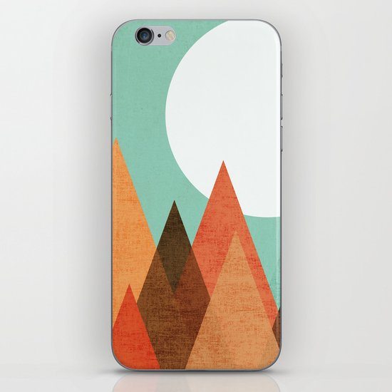 From the edge of the mountains iPhone & iPod Skin