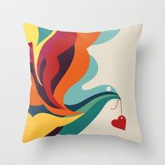 Love Message Throw Pillow