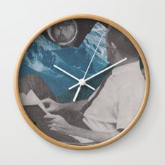 I Like The Way You Look At The World Wall Clock