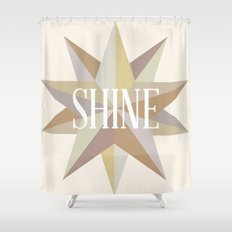 Shine Like a Star Shower Curtain
