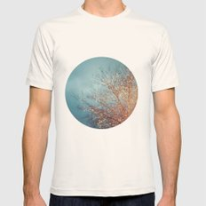 December Lights Mens Fitted Tee Natural SMALL