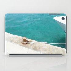 Boat Green iPad Case