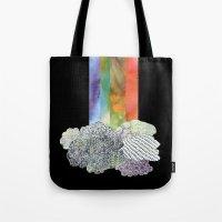 Clouds & Rainbow Tote Bag