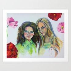 Poppy Summer Art Print
