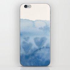 Waves of Love iPhone & iPod Skin
