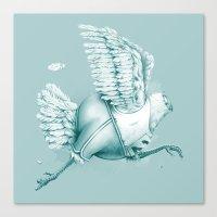 Olimpic Chicken Canvas Print