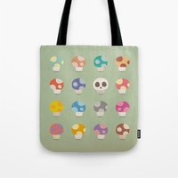 How to Tell Poison Mushrooms Tote Bag