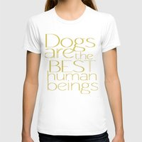 dogs T-shirts featuring Dogs by Suchita Isaac