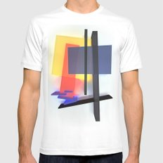 Suprematism 29 Mens Fitted Tee White SMALL