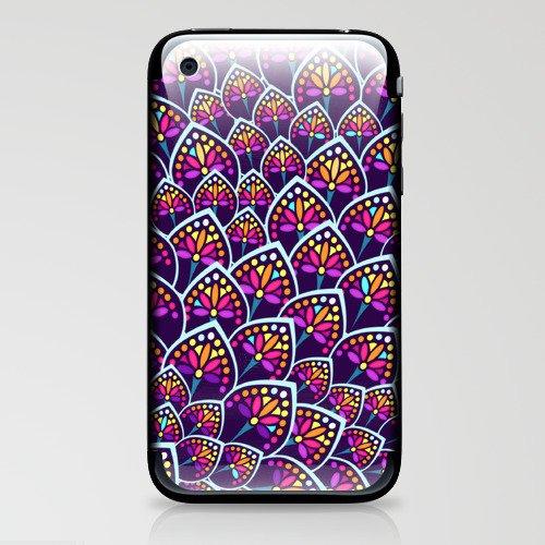 Madeleine Pattern iPhone & iPod Skin