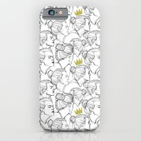 iPhone & iPod Case featuring King Bun by Ashley R. Guillory