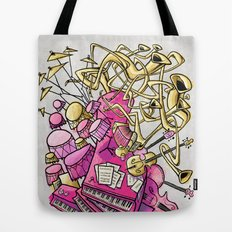 Musical Playground Tote Bag