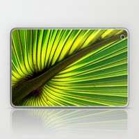 Green Burst Laptop & iPad Skin