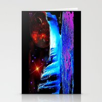 Another World 4  Stationery Cards